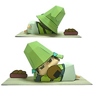 Mô hình giấy cắt dán thủ công Anime Game Mouri Motonari - Sengoku BASARA thumbnail