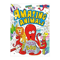 Bumper Colour By Numbers Amazing Animals thumbnail