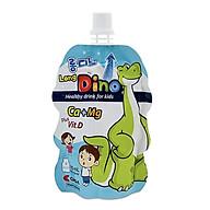 Nước Uống Dinh Dưỡng Vị Sữa Dành Cho Trẻ Em Long Dino Mẫu mới (10 Gói x 120ml) thumbnail