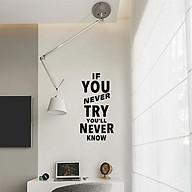 Decal dán tường chữ truyền cảm hứng tích cực thumbnail