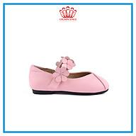 Giày Búp Bê Đi Học Bé Gái Crown UK Princess Ballerina CRUK3117 Cao Cấp Nhẹ Êm Thoáng Mát Size 28-36 4-14 Tuổi thumbnail