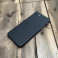 Ốp lưng siêu mỏng, vân carbon dành cho iPhone 7 iPhone 8 - Màu đen thumbnail