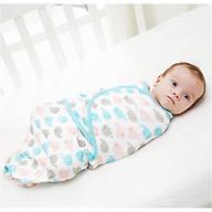 Ủ kén cotton cho bé 0-3 tháng họa tiết ngẫu nhiên thumbnail