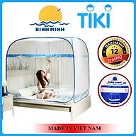 [Rẻ Vô Đối] Mùng Chụp Tự Bung Chống Muỗi Đỉnh Rộng Có Chân Viền 1m6x2m 1m8x2m 2m2 x 2m Hàng Việt Nam - Bình Minh thumbnail