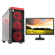 Bộ máy tính để bàn chơi Game VIP đời cao cấu hình khủng giá tốt 4TechGM03 2019 Core i5, Ram 8GB, SSD + HDD, Vga 1050, PC Gaming kèm màn hình 22inch. - Hàng Chính Hãng. thumbnail