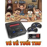 Máy chơi game 6 nút 777 - Máy chơi điện tử 6 nút Xianglin Kết nối màn hình bằng cổng RCA (2AV) - Hình ảnh 8 bit - Tích hợp sẵn 200 trò chơi Hỗ trợ cổng cắm đĩa mềm Snes - Tặng kèm 1 tay 1 nút dự phòng - Chiếc vé đi tuổi thơ siêu rẻ - Hàng chính hãng thumbnail