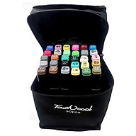 Bút Marker Touch Cool Túi Vải 30 40 60 80 Màu Chuyên Nghiệp thumbnail