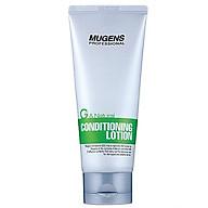 Xả khô dưỡng và tạo kiểu tóc mugens conditioning lotion 100ml thumbnail