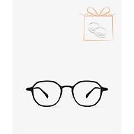 aojo - Gọng kính đa giác bo tròn thời trang AJ102FF108-BKC1 thumbnail