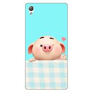 Ốp lưng dẻo cho điện thoại Sony Z3 _Pig Cute 07 thumbnail