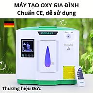 Máy tạo oxy gia đình - Thương hiệu Đức DEDAKJ DE-2AW - Chuẩn CE (châu Âu) - Gọn nhẹ, dễ sử dụng thumbnail