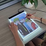 Bảng Vẽ Đèn LED Hắt Sáng 3 Cấp Độ Khổ A4 Cao Cấp BV01 thumbnail