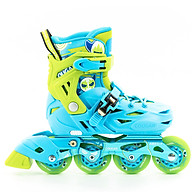 Giày Patin COUGAR Pro hàng chính hãng cao cấp có thể tháo boot ra để giặt bánh cao su đặc dành cho bé từ 3 tuổi đến 15 tuổi trò chơi lành mạnh giúp bé tăng cường sức khoẻ phát triển chiều cao thumbnail