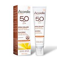 Sữa chống nắng Acorelle cho mặt và toàn thân SPF 50 100ml thumbnail