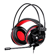 Motospeed H11 Wired Headset Gaming Headset with 50mm Driver Unit Noise Reduction Microphone LED Light Breathable thumbnail