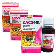 Thực phẩm bảo vệ sức khỏe Sirup Zacomin 75ml (3 hộp) thumbnail
