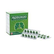 Thực phẩm chức năng hỗ trợ tuần hoàn não Robgingko Robinson Pharma Usa-Hộp 100 viên thumbnail