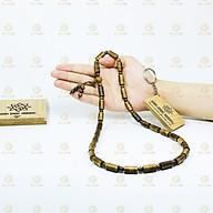 Vòng đeo cổ trầm hương tốc phong thủy trụ trúc 8mm nam nữ Sơn Mộc Hương mang lại may mắn và thành công thumbnail