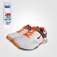Giày cầu lông XPD chính hãng ma 855 ma u tră ng đen - Tặng bình làm sạch giày cao cấp thumbnail