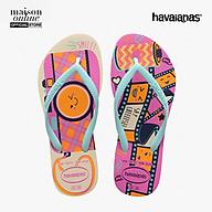 HAVAIANAS - Dép trẻ em Slim Fun 4141411-7668 thumbnail