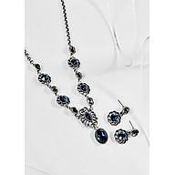 Bộ trang sức Dark Blue Crystal Swarovski thumbnail
