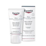 Eucerin Kem Dưỡng Giảm Ngứa, Đỏ Cho Da Mặt Ato Control Face Cream 50ml thumbnail