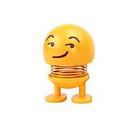 Emoji lò xo đồ chơi thú nhún lúc lắc màu vàng lò xò thumbnail
