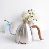 Ấm rót cà phê pour over Brewista 700ml - Màu xám inox thumbnail