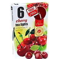 Hộp 6 nến thơm tinh dầu Tealight Admit Cherry QT026087 - quả anh đào thumbnail