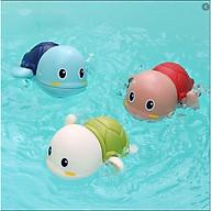 COMBO 3 rùa bơi, đồ chơi cho trẻ trong nhà tắm siêu dễ thương thumbnail