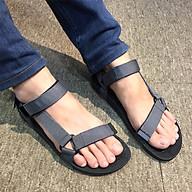 Giày sandals học sinh nam quai dù mềm êm chân siêu bền, không ngại mưa nắng, rửa nước thoải mái DA611-GXO thumbnail