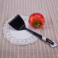 Bộ 3 xẻng nhựa lật đồ ăn chịu nhiệt (màu đen) - hàng nội địa Nhật thumbnail