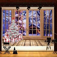 Phông Nền Chụp Ảnh Phong Cách Giáng Sinh 5x3 7x5ft 8x6ft thumbnail
