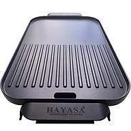 Bếp nướng điện chống dính Hayasa HA-661 - 1500W - Hàng chính hãng thumbnail