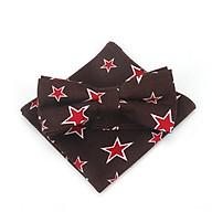 Bộ sản phẩm cà vạt thời trang , nơ bướm đeo cổ và khăn tay cho bé trai ngôi sao 01 thumbnail