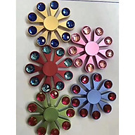 Con Quay Hand Spinner - Fidget Spinner 9 cánh đính đá thumbnail