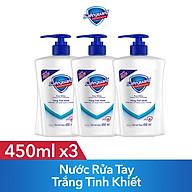 Combo 3 Nước Rửa Tay Safeguard Trắng Tinh Khiết 450ml thumbnail
