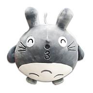 Gấu Bông Totoro Cao Cấp Lông 3D Mịn Đẹp Có Dây Treo 25cm thumbnail
