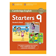 Cambridge Young Learner English Test Starters 9 Student Book thumbnail