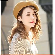 Mũ nồi nữ phong cách Hàn, nón bánh tiêu retro thời trang thumbnail