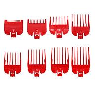 Hair Clipper Combs Guide Kit Plastic Hair Trimmer Guards Attachments Hair Salon Tool Set of 8 PCS thumbnail