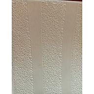 Combo 10 tấm xốp dán tường Tân Cổ Điển 1 , phong cách hoài cổ, sang trọng , lịch lãm ma u Tră ng thumbnail