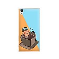 Ốp lưng dẻo cho điện thoại Sony Xperia Z5 - 01151 7896 RELAX02 - in hình chibi dễ thương - Hàng Chính Hãng thumbnail