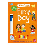 I M Starting School First Day Wipe-Clean Book With Pen - I M Starting School thumbnail