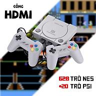 Máy Chơi Game Cầm Tay Mini 4 Nút 2 người chơi 628+20 Trò HDMI - MCG Kết Nối Tivi Hình Ảnh Siêu Sắc Nét thumbnail