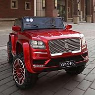 Ô tô xe điện siêu địa hình LINCOHN BY918 cỡ lớn 2 chỗ 4 động cơ lớn (Đỏ-Trắng-Xanh) thumbnail