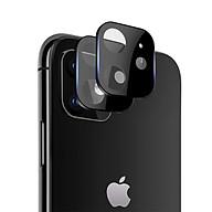 Miếng Dán Cường Lực Camera Dành Cho Iphone 11 Pro Pro Max ( Màu Đen) thumbnail