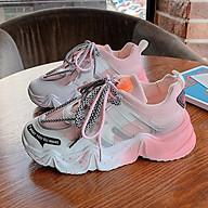 Giày nữ Giày sneaker nữ Giày Thể Thao Nữ Đế Độn Pha Màu Siêu Đẹp thumbnail