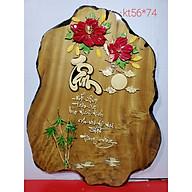 Tranh gỗ nghệ thuật thư pháp chữ TÂM thumbnail