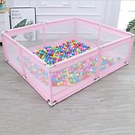 Quây cũi hình vuông làm sân chơi cho bé thumbnail
